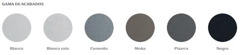 Colores disponibles Plato de ducha Roca aquos